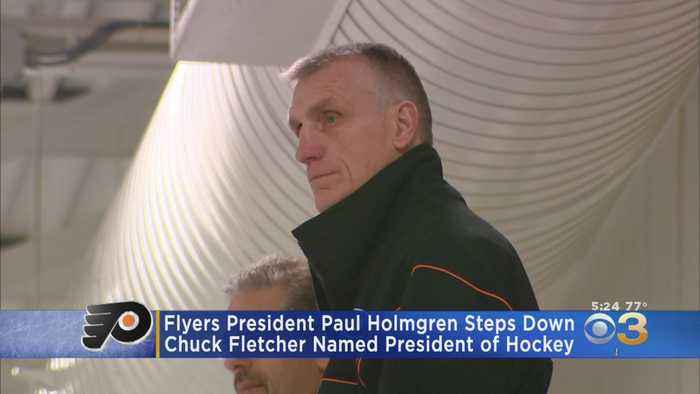 Flyers President Paul Holmgren Steps Down