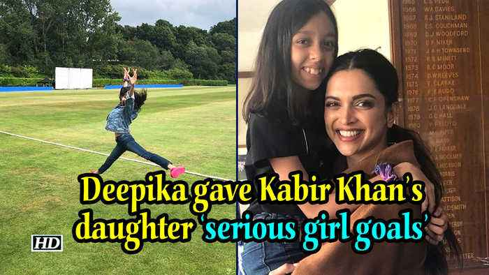 Deepika gave Kabir Khan's daughter 'serious girl goals'