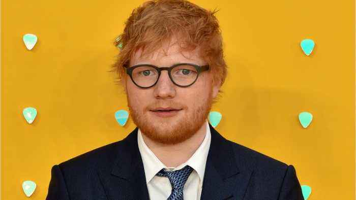 Ed Sheeran Is A Married Man