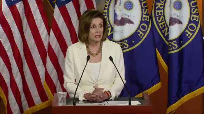 "Speaker Pelosi on ICE raids: ""Every person in America has rights."