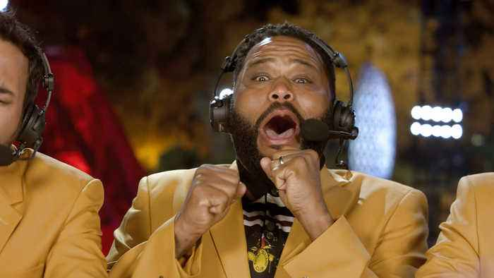 Guest Commentator Anthony Anderson Wants to Fact Check the Golfers