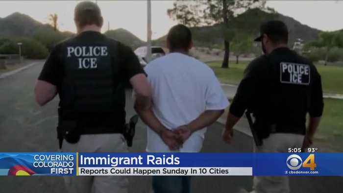 Gov. Jared Polis Reacts To Pres. Trump's ICE Raids