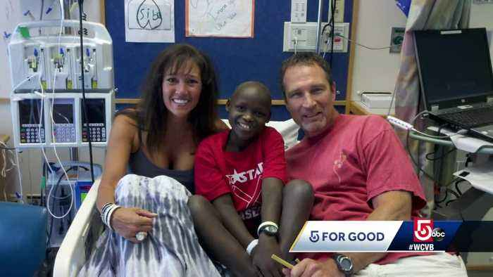Local family seeks support for young cancer survivor from Rwanda