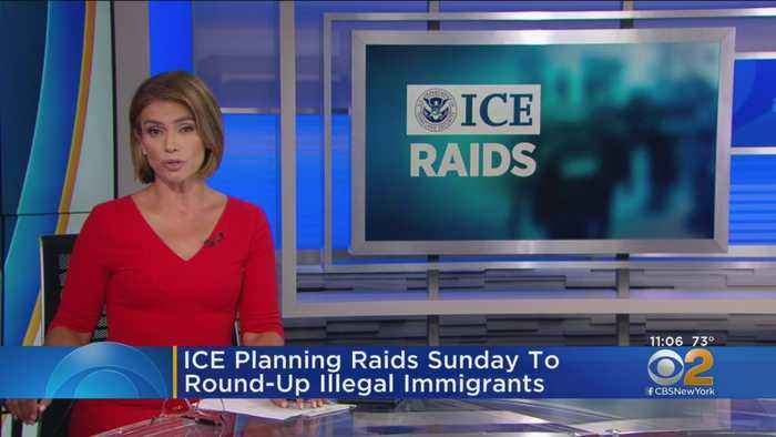 ICE To Raid New York, Other Cities Sunday