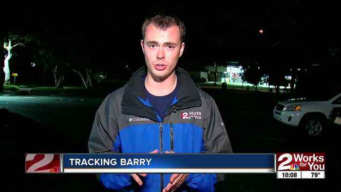 Tracking Barry as it approaches the Louisiana coast