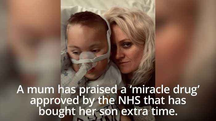 Mum praises 'miracle drug' that has helped extend disabled son's life