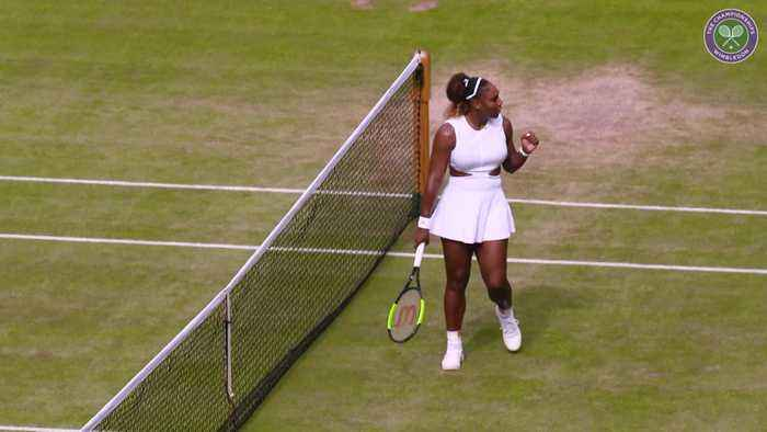 Wimbledon day nine: Williams to face Halep in women's final