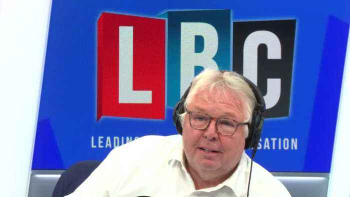 Nick Ferrari Tells Tommy Robinson Supporter You Can't Pick And Choose The Laws You Obey