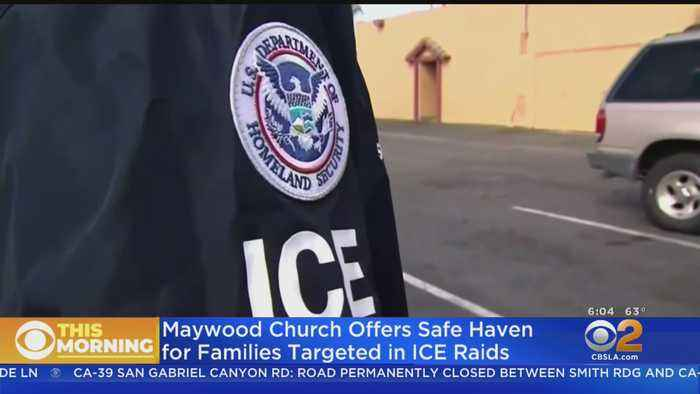 Maywood Church Offers Sanctuary To Immigrants Targeted By ICE Raids