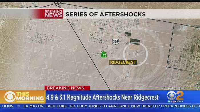 Magnitude 4.9 Quake Hits Ridgecrest Friday Morning