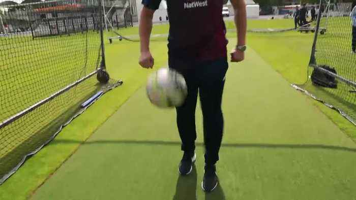 Jonny Bairstow, Tom Curran & Jofra Archer take on our football challenge!