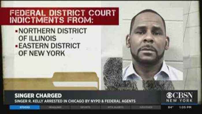 Singer R. Kelly Arrested In Chicago By NYPD, Federal Agents