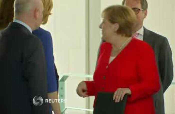 Germans fret about Merkel after shaking episodes