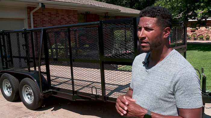 $1,000 Stolen Trailer Confiscated From Oklahoma City Man Over a Year After He Bought It