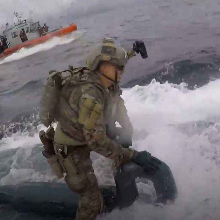 Coast Guard seizes 17,000 pounds of cocaine during dramatic aquatic drug bust