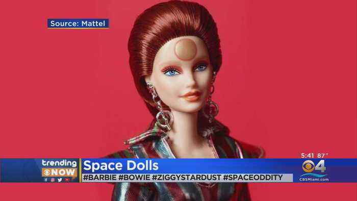 Barbie Gets David Bowie Inspired Makeover