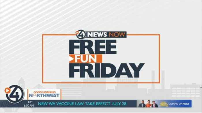 Free Fun Friday for July 12, 2019