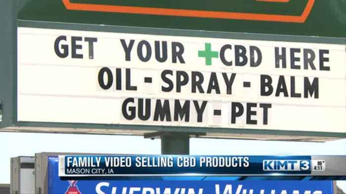 CBD Products Sold At Family Video Store