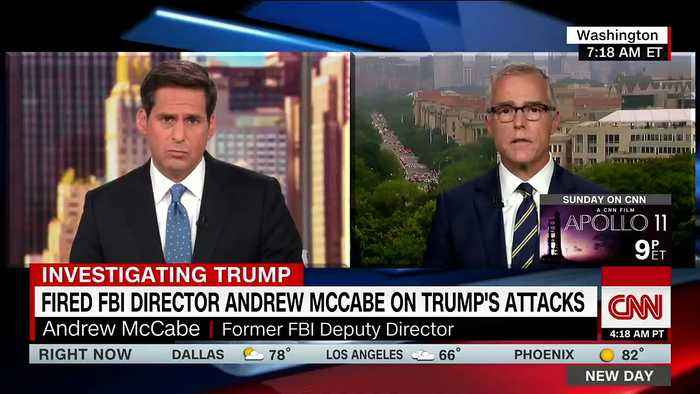 Trump Lashes Out At 'Major Sleazebag' McCabe