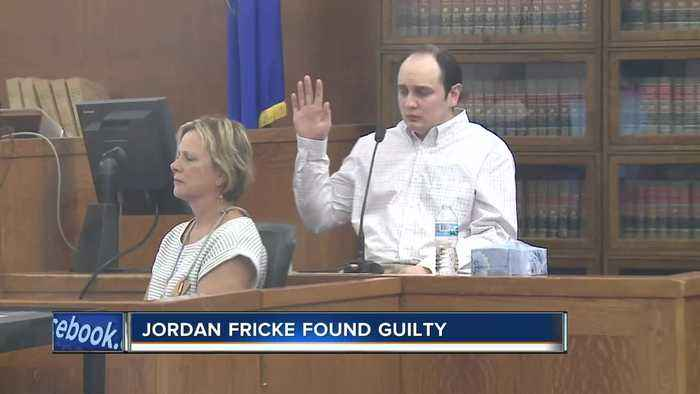 Jordan Fricke found guilty on all four counts in shooting death of Officer Matthew Rittner