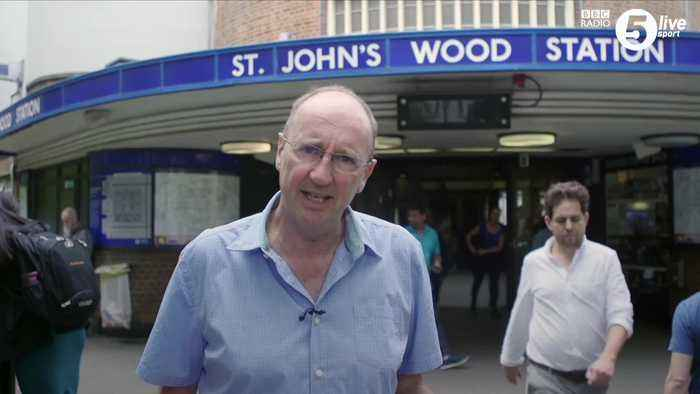 Aggers to read Tube announcements for World Cup final