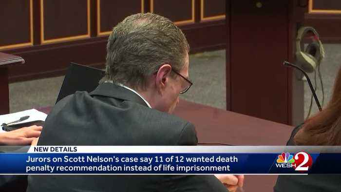 Jurors on Nelson's case say 11 of 12 wanted death penalty recommendation instead of life imprisonment