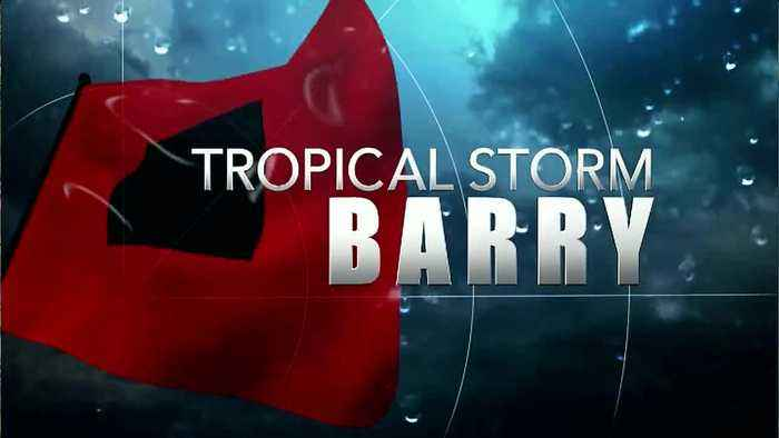 Tropical Storm Barry just hours away from making landfall