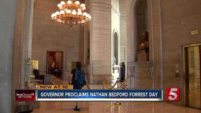 Tenn. governors must sign Nathan Bedford Forrest Day proclamation along with others