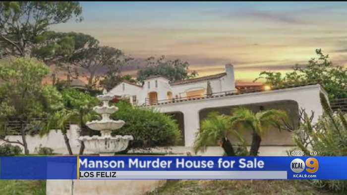 Infamous House Where Manson Family Killed Couple Goes Up For Sale