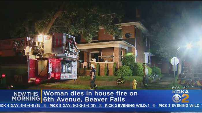 Woman Dies In Beaver County House Fire