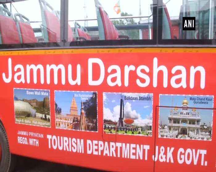 Jammu Darshan' bus service kicks off for city tour