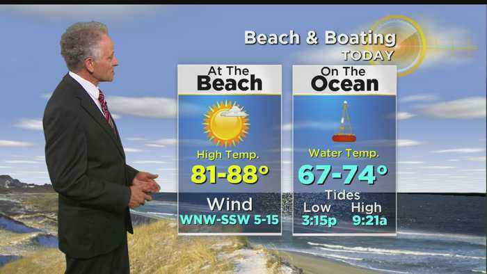 WBZ Midday Forecast For July 13