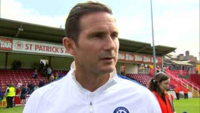 Lampard: I want competition for places