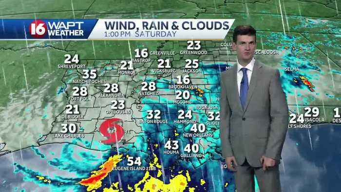 Forecast: Barry brings heavy rain, flood threat