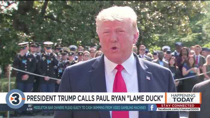 Trump unloads on Paul Ryan after 'American Carnage' excerpts