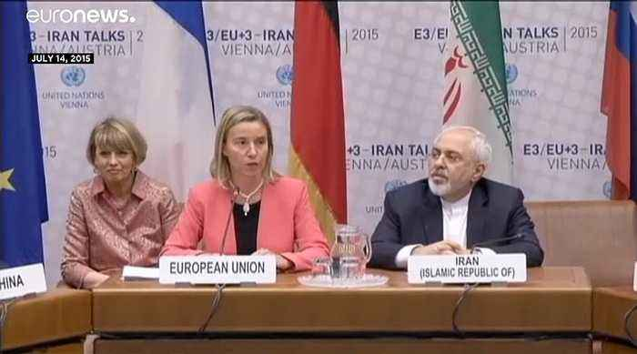 Britain, France and Germany issue a joint statement over fears the Iran nuclear deal could collapse