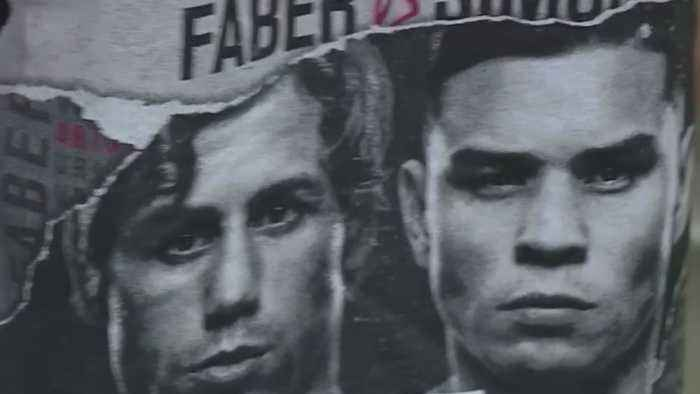 Excitement Grows For Faber's Fight