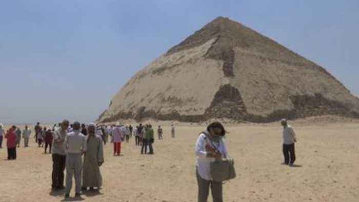 Snefru's Bent Pyramid opens to the public