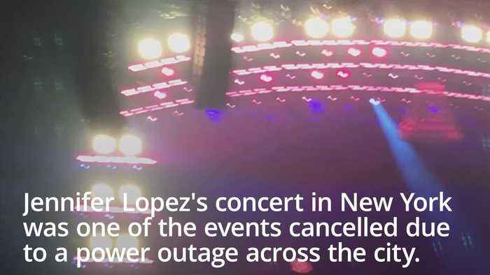 New York power outage: Jennifer Lopez 'devastated' concert cancelled