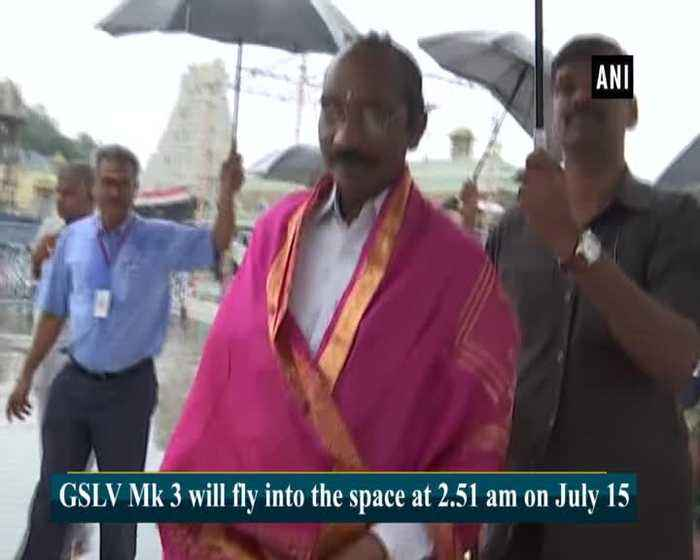 ISRO chairman visits temple in AP's Tirumala ahead of Chandrayaan 2 launch