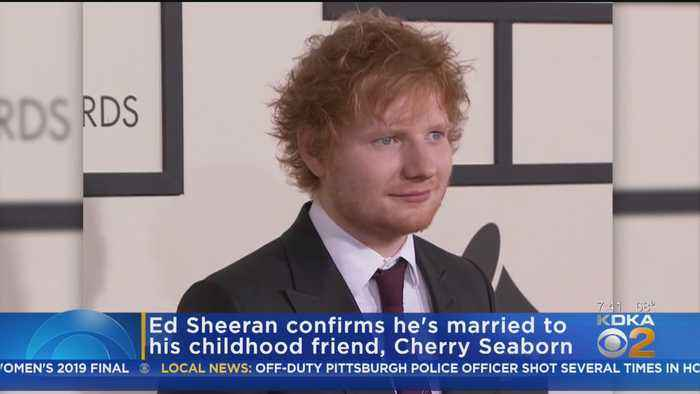 Ed Sheeran Confirms He's Married
