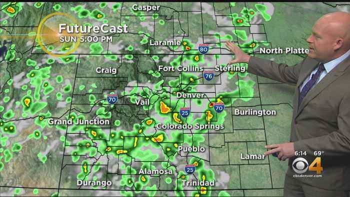 More Monsoon T-Storms This Afternoon