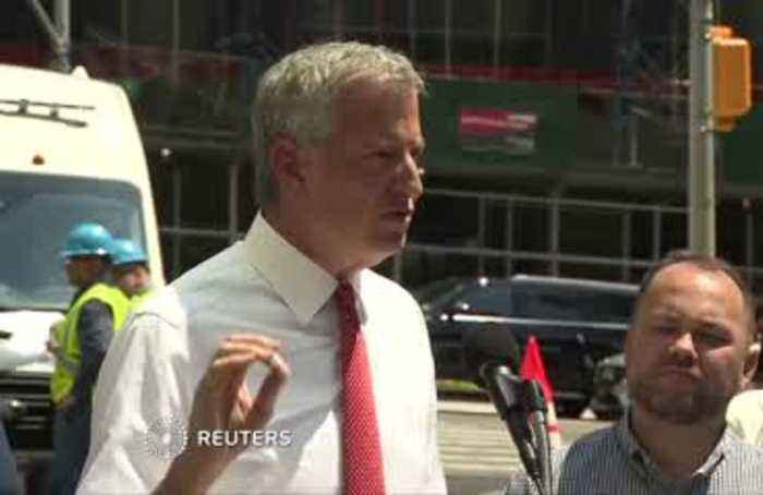 NYC blackout 'not a cyber attack': mayor