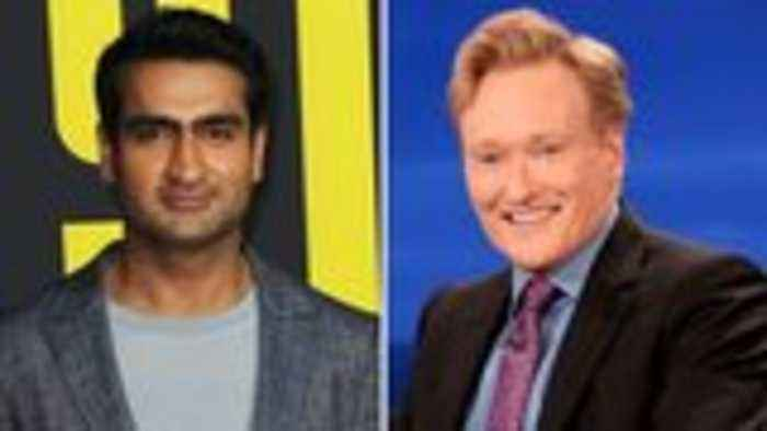 Kumail Nanjiani Appears on Conan O'Brien's Podcast, Explains Late-Night Cancellation | THR News