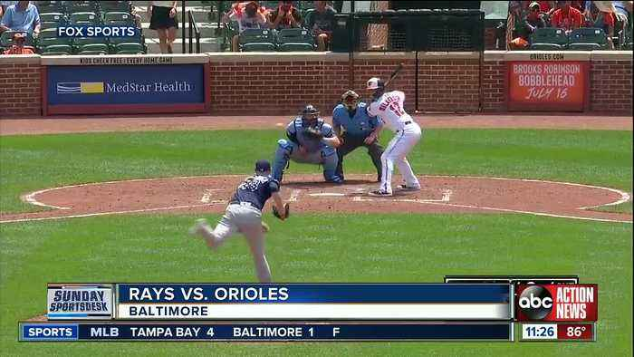 Perfect for 8 innings, Tampa Bay Rays settle for 4-1 win over Baltimore Orioles