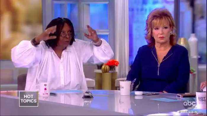 Oh look, the View diva's are indignant over Trump tweets