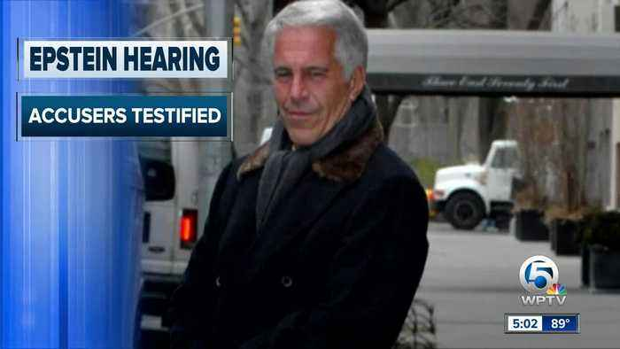 Financier Jeffrey Epstein will remain behind bars for now as a federal judge mulls whether to grant bail on charges he sexually