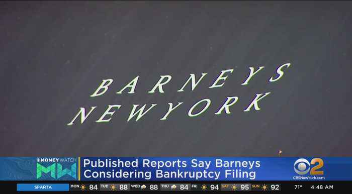 Barneys Reportedly Considering Bankruptcy Filing