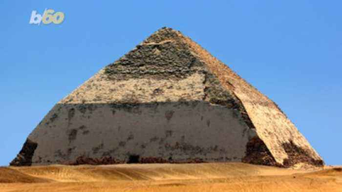 Walk Like an Egyptian… to the 'Bent' Pyramid, Now Open For Business
