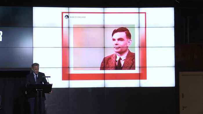 Alan Turing unveiled as new face on £50 note